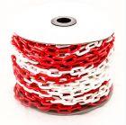 - Цепь пластиковая красно-белая 6мм